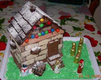 Casetta Di Natale Di Cioccolato : Casetta di natale con oro saiwa ~ decorare la tua casa