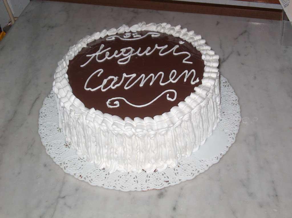 Torta di compleanno al cioccolato - Ricetta di Imma per kucinare.it