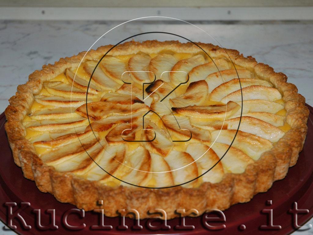 Crostata di mele e crema ricetta di per for Crostata di mele